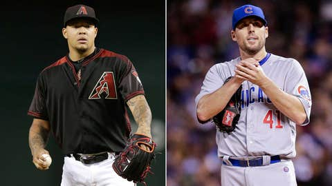 Today's starting pitchers: RHP Taijuan Walker vs. RHP John Lackey