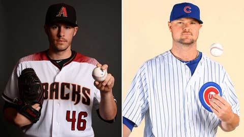 Today's starting pitchers: LHP Patrick Corbin vs. LHP Jon Lester