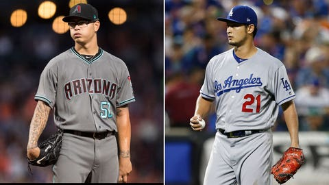 Today's starting pitchers: LHP Anthony Banda vs. RHP Yu Darvish