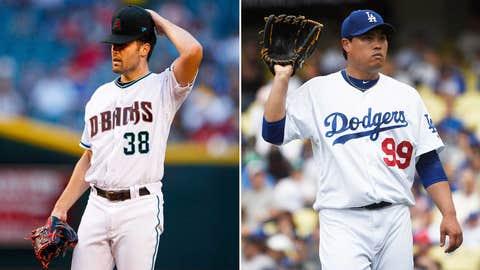 Today's starting pitchers: LHP Robbie Ray vs. LHP Hyun-Jin Ryu
