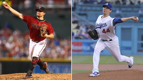 Today's starting pitchers: RHP Zack Godley vs. LHP Rich Hill