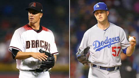 Today's starting pitchers: RHP Zack Greinke vs. LHP Alex Wood