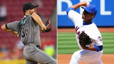 Ray solid in return as Diamondbacks edge Mets 3-2