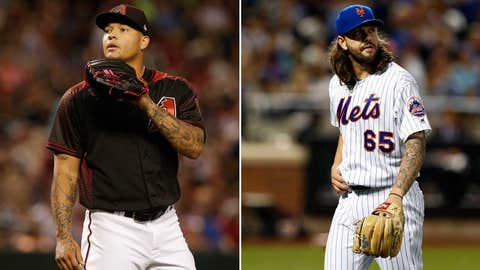 Today's starting pitchers: RHP Taijuan Walker vs. RHP Robert Gsellman