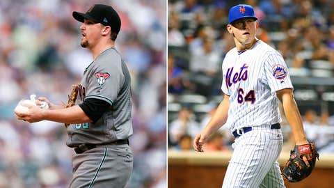Today's starting pitchers: RHP Zack Godley vs. RHP Chris Flexen