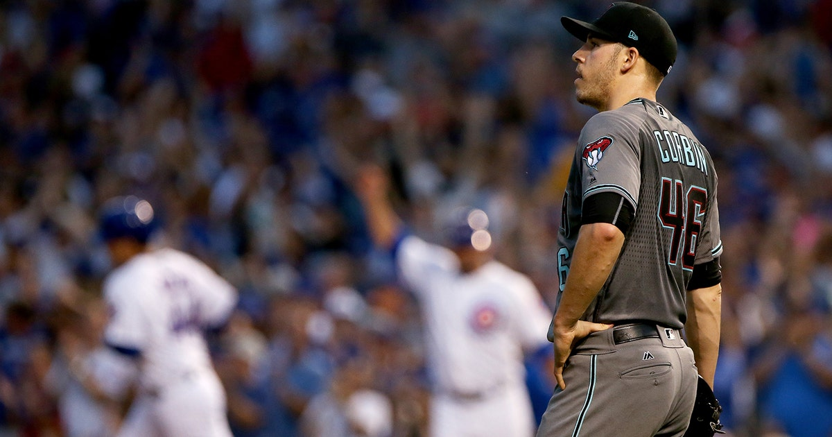 The Oakland Home Of Patrick Printy: Corbin, D-backs Clubbed By Cubs In Series Opener