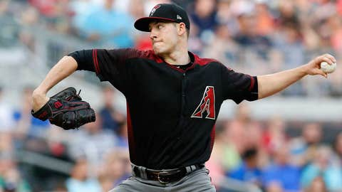 D-backs starting pitcher Patrick Corbin