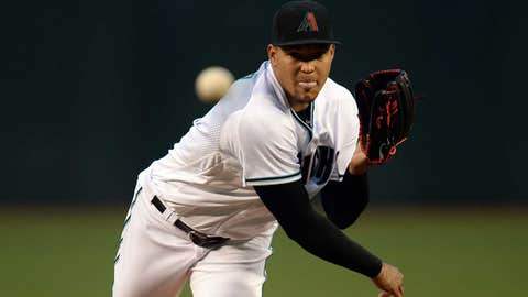 D-backs starting pitcher Taijuan Walker (6-5, 3.60 ERA)