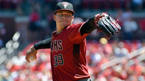 D-backs starting pitcher Taijuan Walker (6-7, 3.83 ERA)