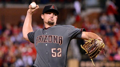D-backs starting pitcher Zack Godley (4-4, 3.06 ERA)