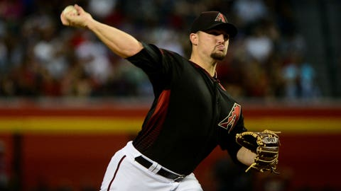 D-backs starting pitcher Zack Godley (5-4, 2.86 ERA)