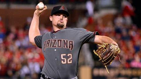 D-backs starting pitcher Zack Godley (5-5, 2.95 ERA)