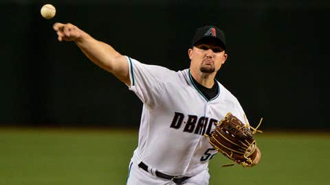 D-backs starting pitcher Zack Godley (5-7, 3.15 ERA)