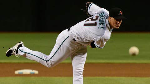 D-backs starting pitcher Zack Greinke (13-4, 3.10 ERA)