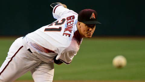 D-backs starting pitcher Zack Greinke (13-5, 3.14 ERA)