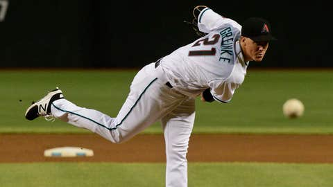 D-backs starting pitcher Zack Greinke (14-6, 3.16 ERA)