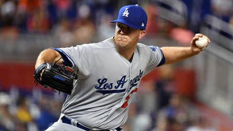 Dodgers starting pitcher Alex Wood (13-1, 2.33 ERA)