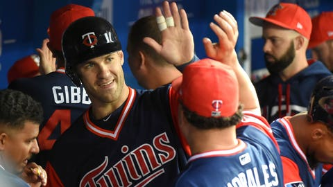 Joe Mauer, Twins first baseman (↑ UP)
