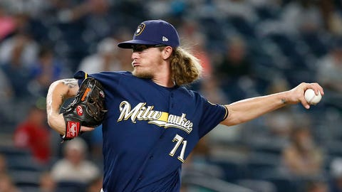 Top rookie - pitcher: Josh Hader