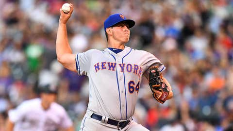 Mets starting pitcher Chris Flexen (2-2, 6.55 ERA)