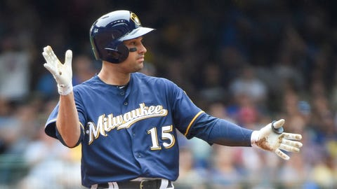 Neil Walker, Brewers second baseman (↑ UP)