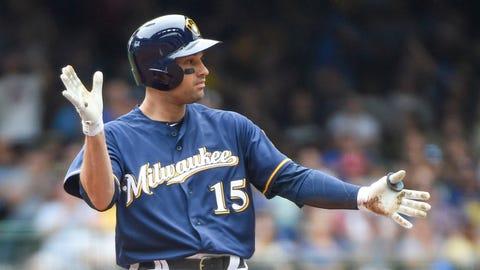 Neil Walker, Brewers second baseman (↑ UP)