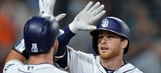Spangenberg, Padres beat Phillies 7-4; Hoskins homers twice