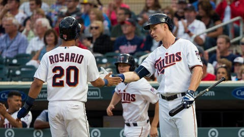 The other Twins outfielders (↓ DOWN)