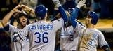 Gallagher's grand night fuels Royals win over Athletics