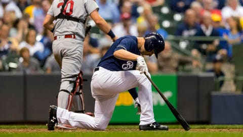 The rest of the Brewers offense (↓ DOWN)