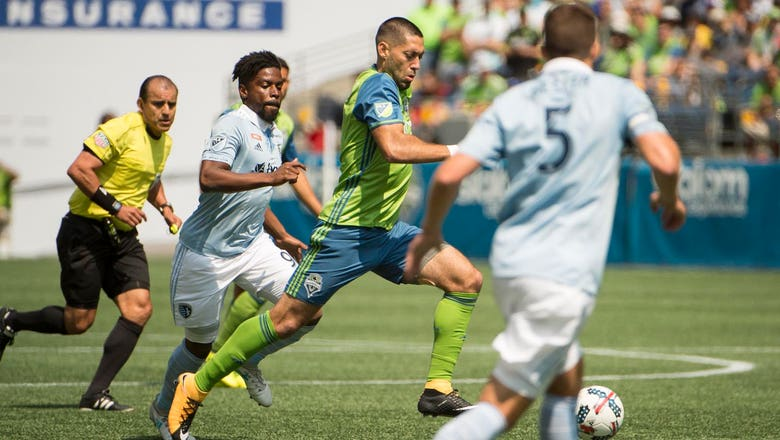 Sporting KC's unbeaten streak snapped with 1-0 loss to Seattle