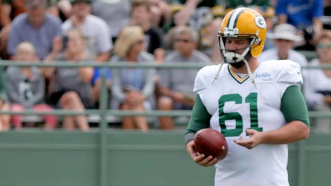 Brett Goode, Packers long snapper (↑ UP)