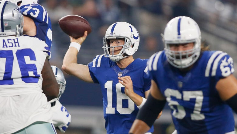 Tolzien, Morris perform solidly in Colts' 24-19 loss to Cowboys
