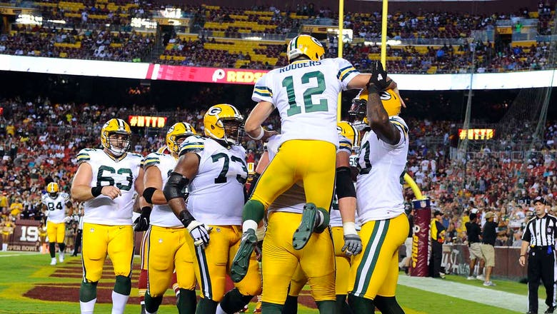 Rodgers masterful in Packers' preseason win over Washington