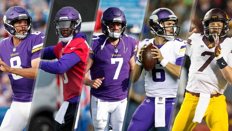 Zimmer: Vikings would ''like to'' keep three QBs on initial 53-man roster