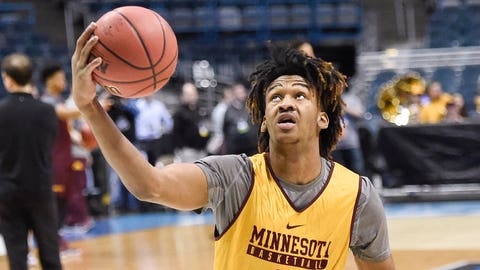 Eric Curry, Gophers forward (↓ DOWN)