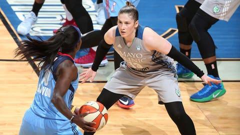 Lindsay Whalen, Lynx guard (↓ DOWN)