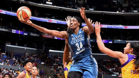 New York's Charles, Los Angeles' Parker Named WNBA Players of the Week