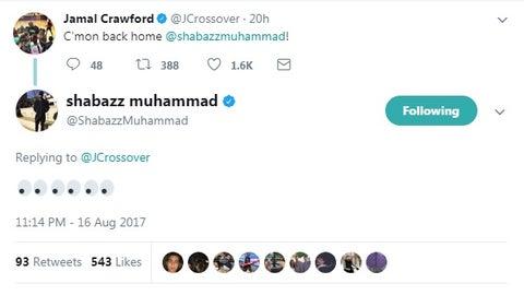 Shabazz Muhammad, former (?) Wolves forward