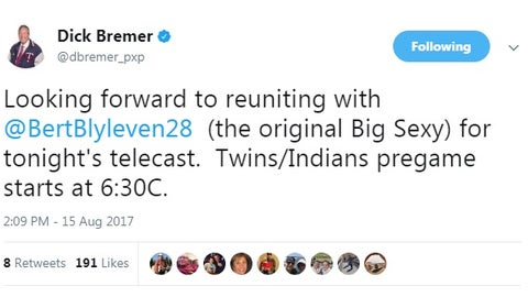 Dick Bremer, Twins play-by-play broadcaster