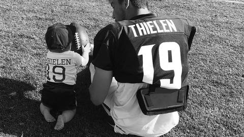 Caitlin Thielen (via Adam Thielen, Vikings receiver)