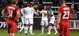 Rookie Danladi scores 2 goals, leads Minnesota United to first road win