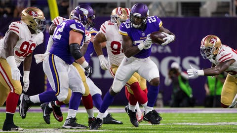 Latavius Murray, Vikings running back (↓ DOWN)