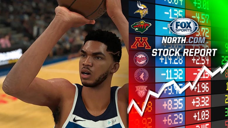 Wolves' Karl-Anthony Towns gets a boost in new NBA 2K game