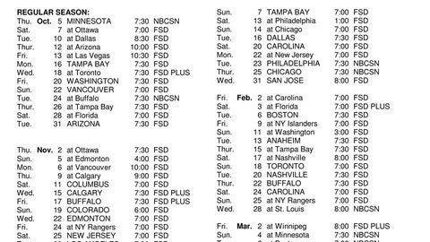 2017-18 Red Wings set to play on FOX Sports Detroit