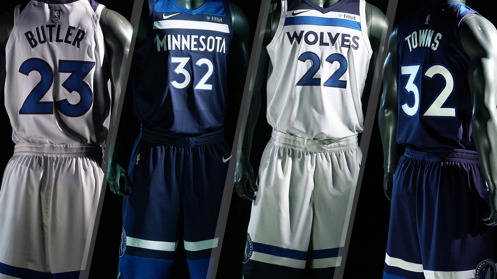 buy online 6a023 a6fa2 An in-depth look at the new Timberwolves jerseys | FOX Sports