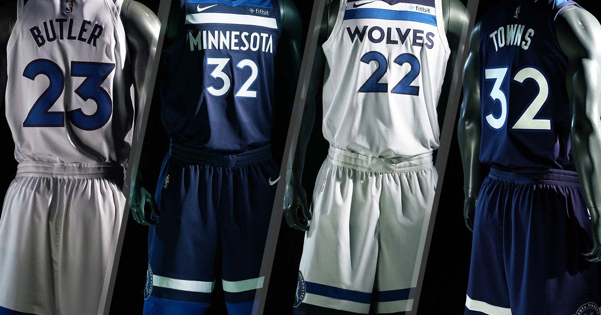 An In Depth Look At The New Timberwolves Jerseys Fox Sports
