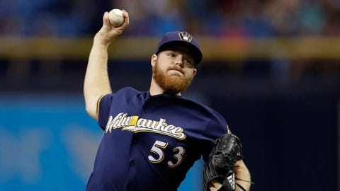 Brewers shut out Rays for second straight night