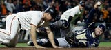 Brewers stumble in 7th, fall to Giants in series finale