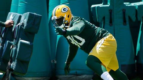 Montravius Adams, Packers defensive tackle (↓ DOWN)